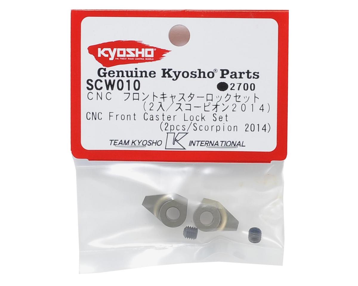 Kyosho CNC Front Caster Lock Set (2)