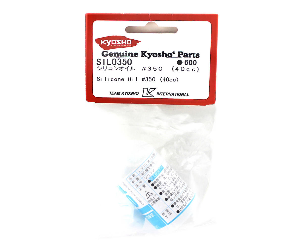 Silicone Shock Oil (40cc) (350cst) by Kyosho