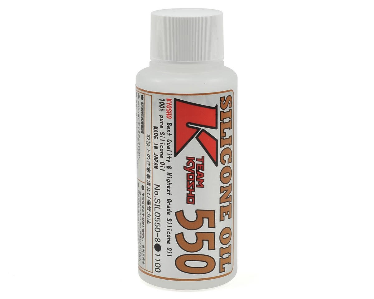Silicone Shock Oil (80cc) (550cst) by Kyosho