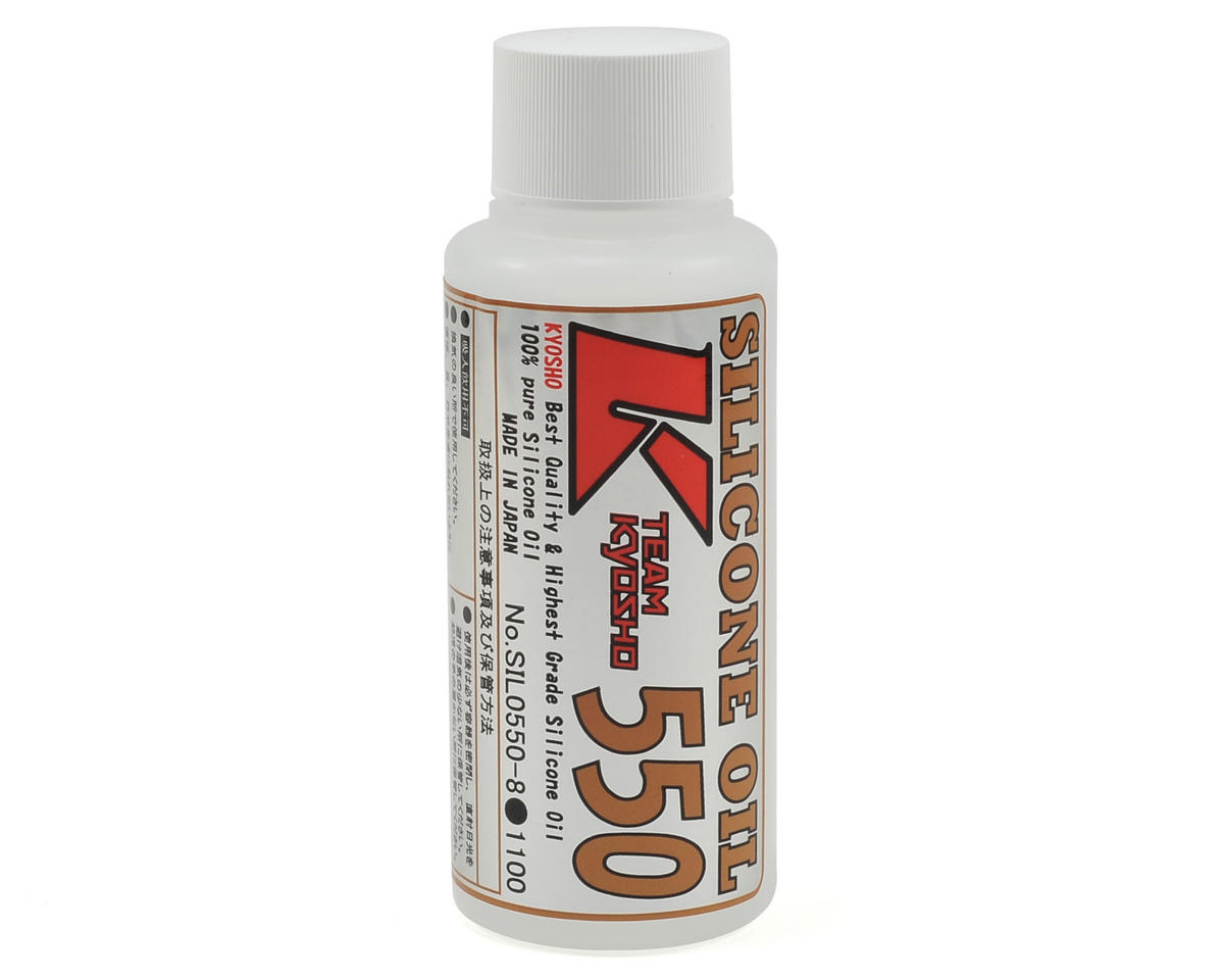 Kyosho Silicone Shock Oil (80cc) (550cst)