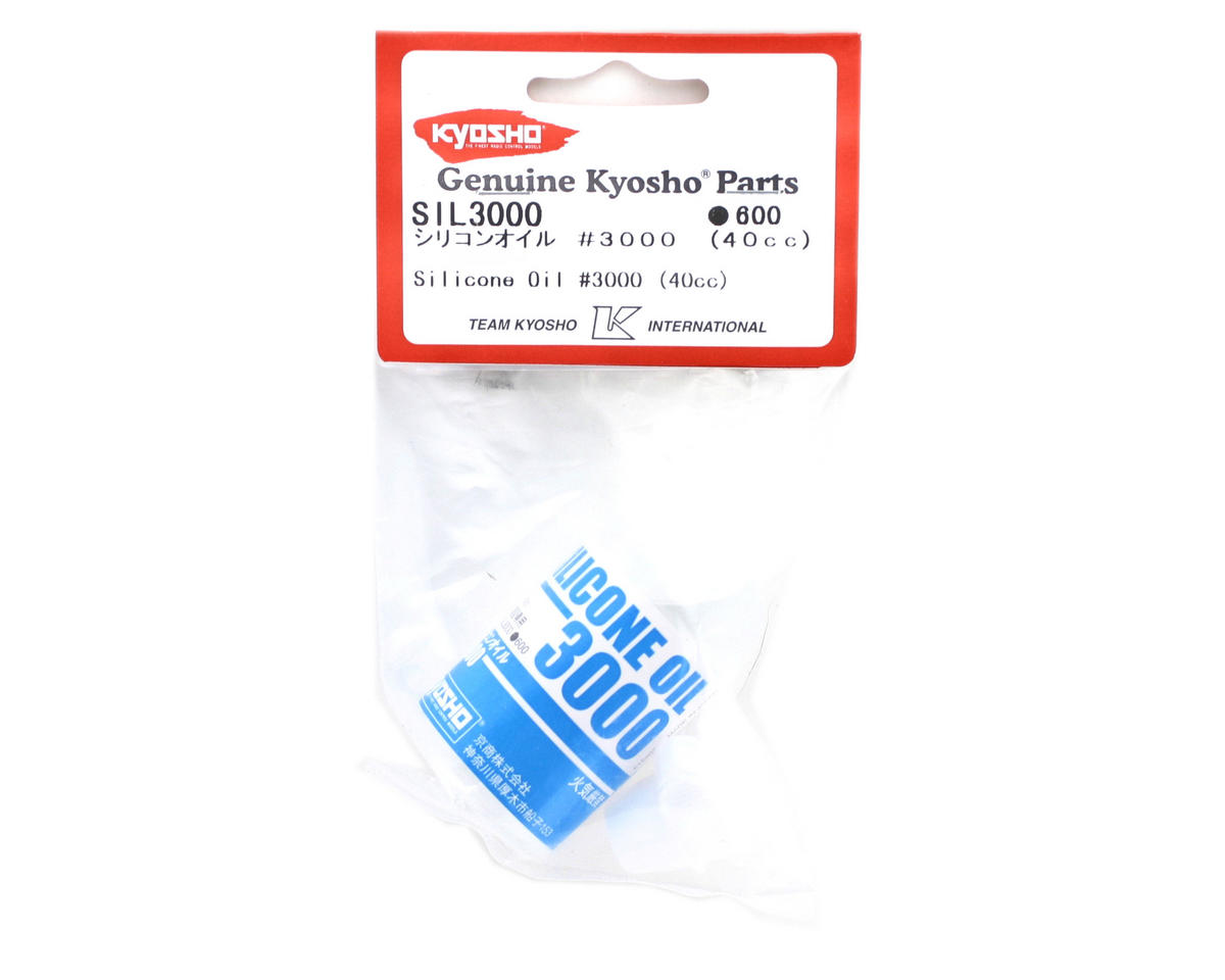 Silicone Differential Oil (40cc) (3,000cst) by Kyosho