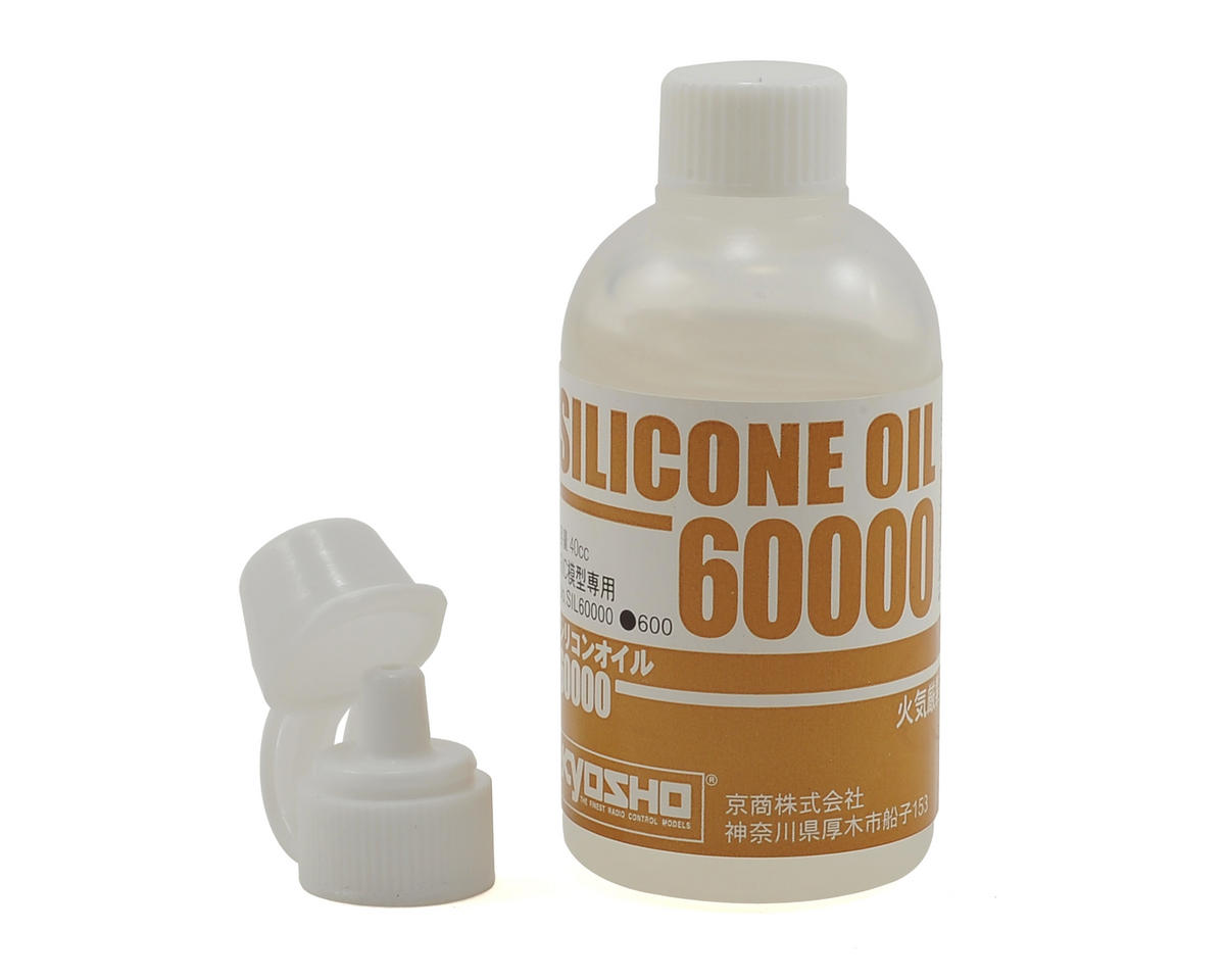Silicone Differential Oil (40cc) (60,000cst) by Kyosho