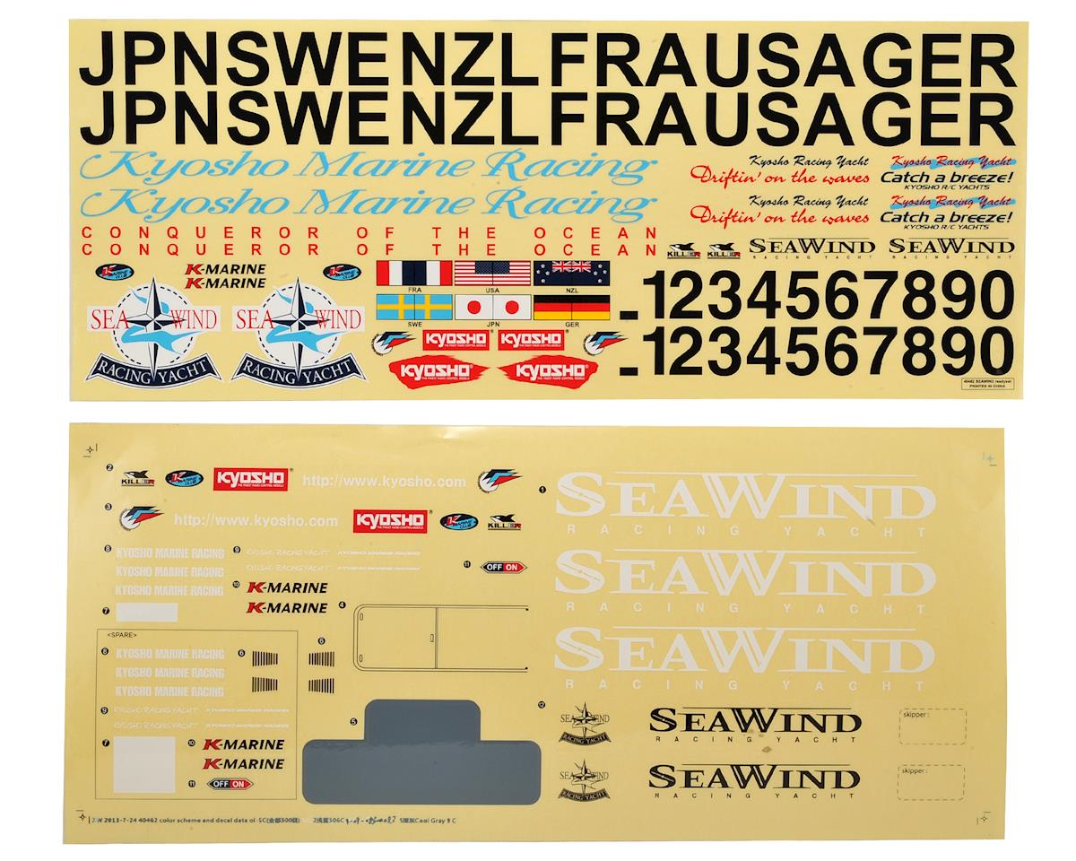 Kyosho Seawind Decal Set