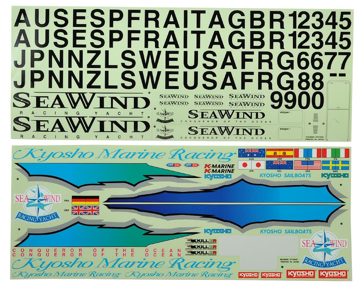 Seawind Decal by Kyosho