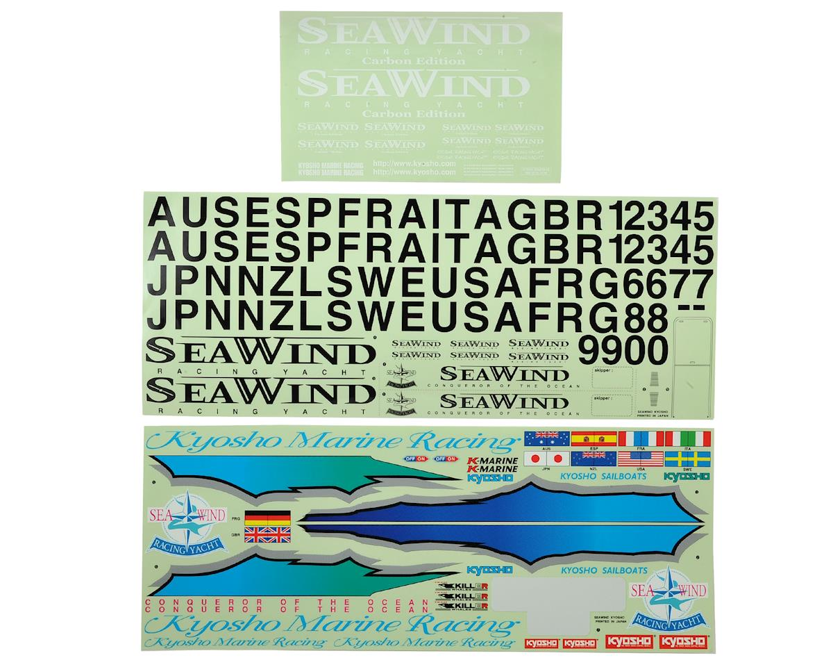 Kyosho Seawind Carbon Edition Decal