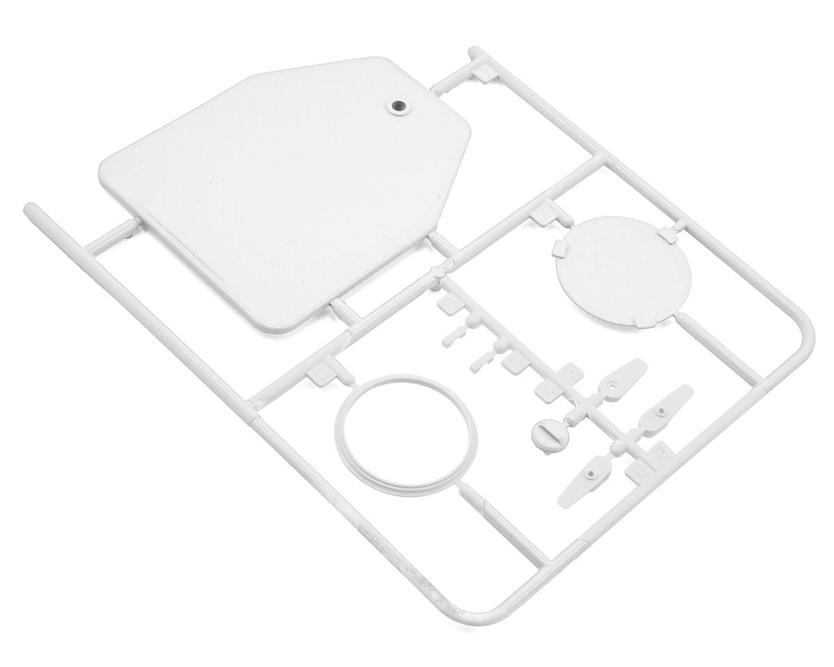 Kyosho Seawind Plastic Parts D (White)