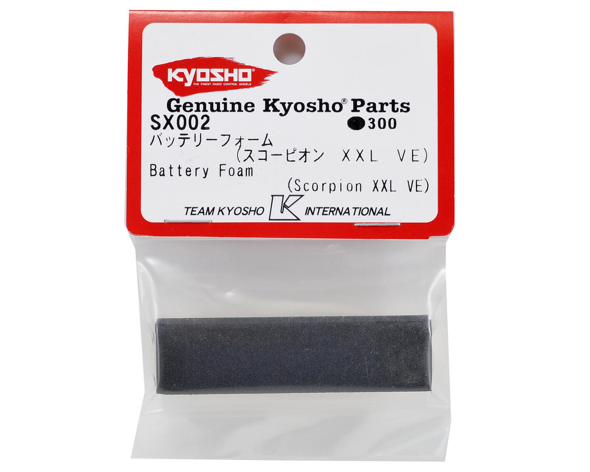 Kyosho Battery Foam