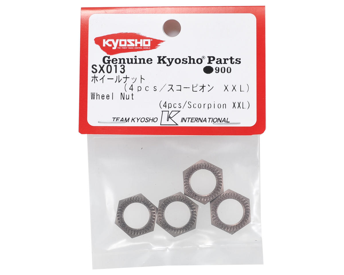 Kyosho Wheel Nut (4)