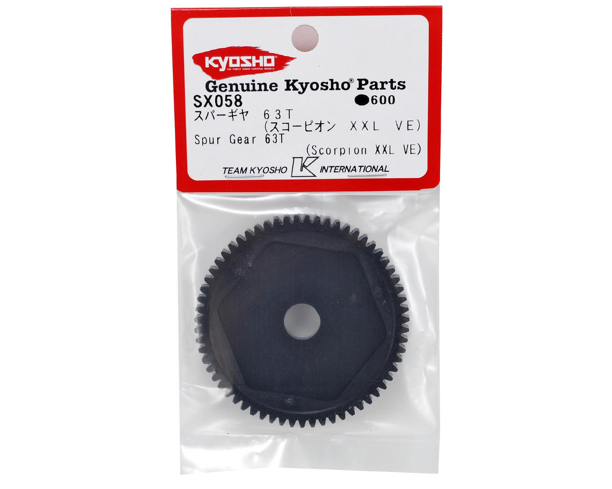 Mod1 Spur Gear (63T) by Kyosho