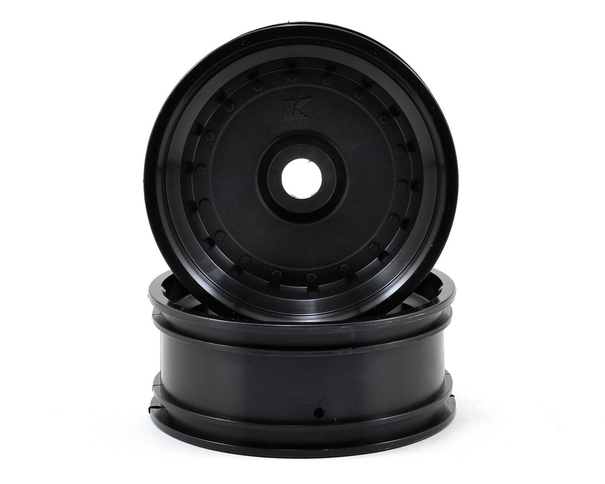 Kyosho Front Wheel (2) (Scorpion XXL VE) (Black)