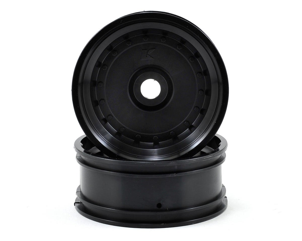 Kyosho Scorpion XXL Front Wheel (2) (Scorpion VE) (Black)