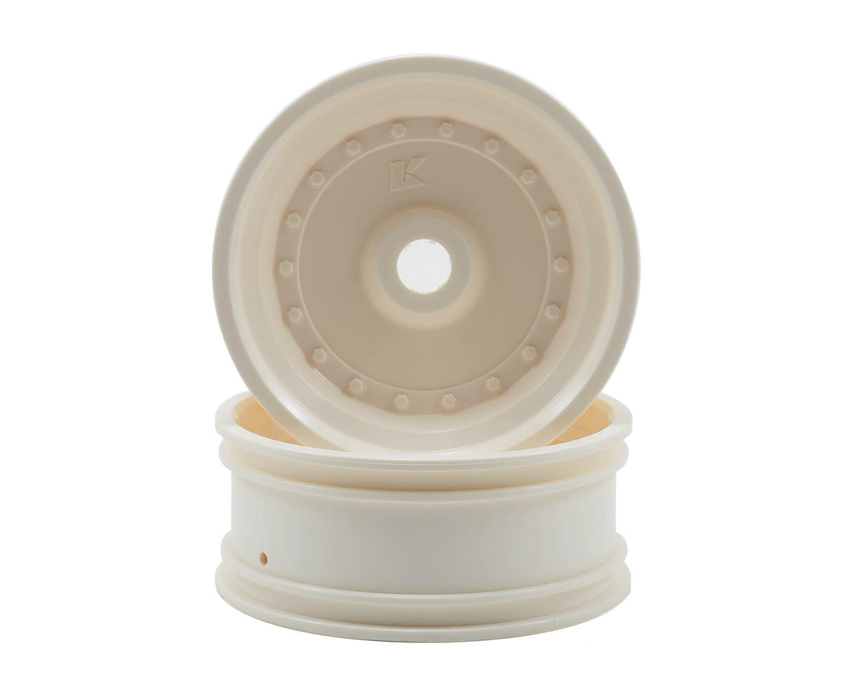Kyosho Front Wheel (2) (Scorpion XXL VE) (White)