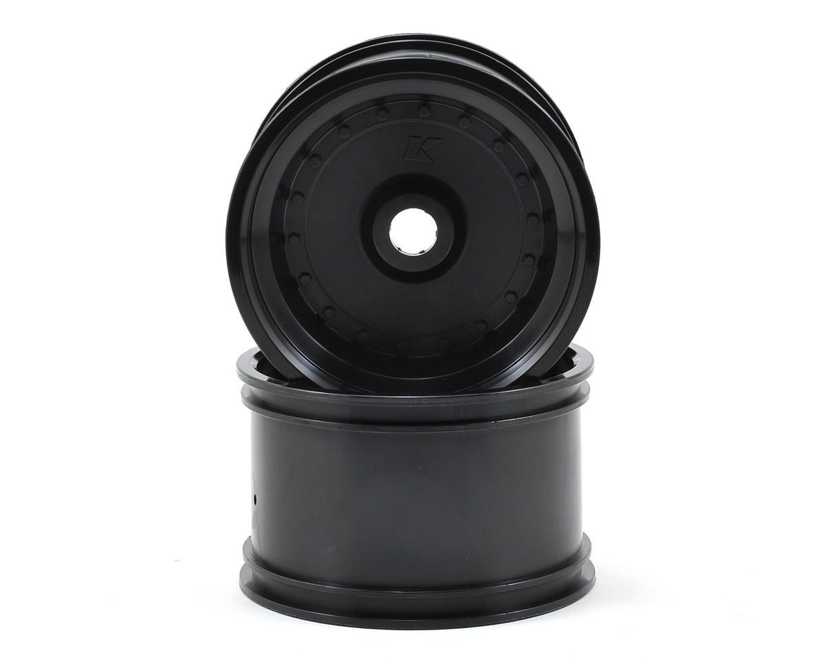 Kyosho Rear Wheel (2) (Scorpion XXL VE) (Black)