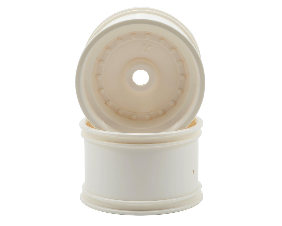 Kyosho Rear Wheel (2) (Scorpion XXL VE) (White)