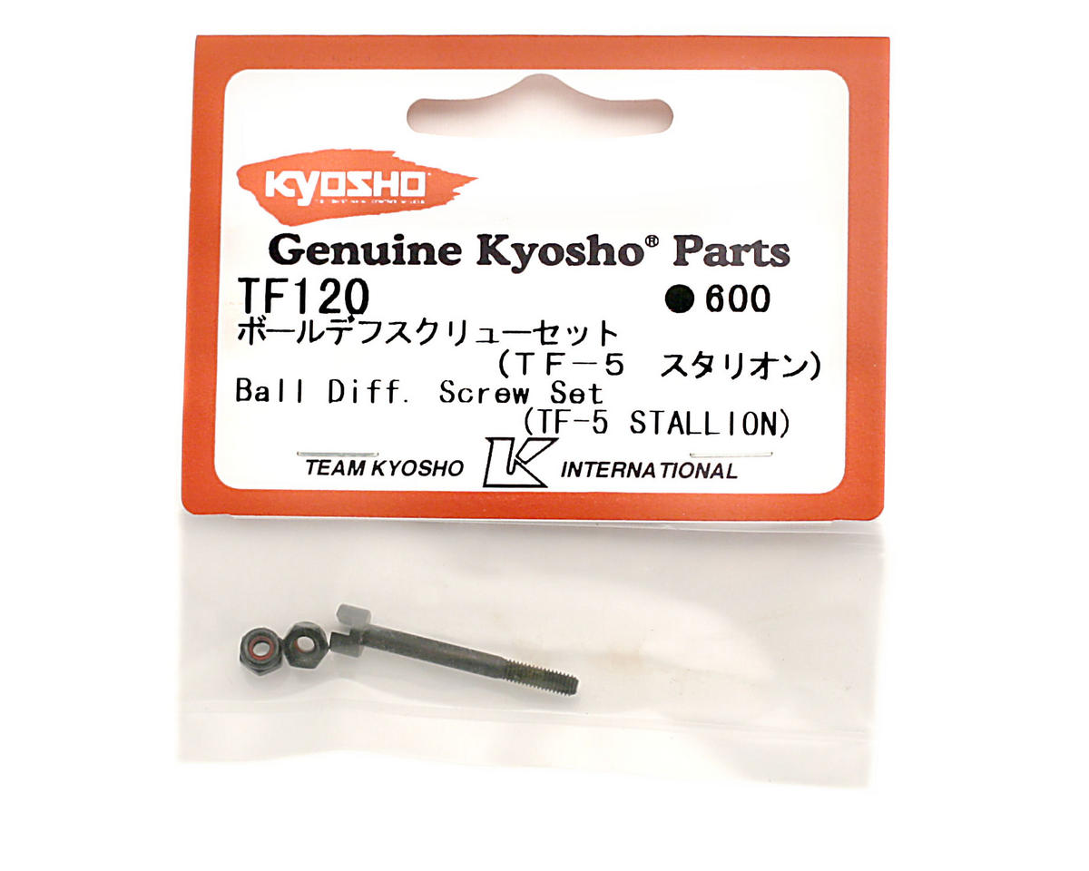 Ball Diff Screw Set by Kyosho