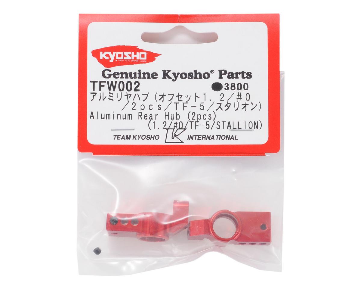 Kyosho Aluminum Rear Hub (Offset 1.2) (2)