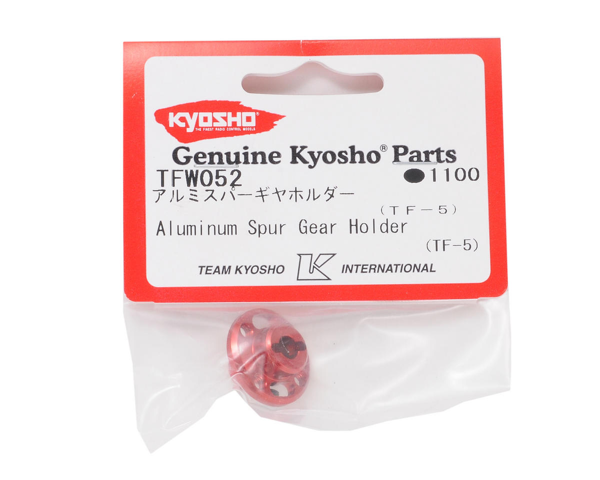 Kyosho Aluminum Spur Gear Holder (Red)