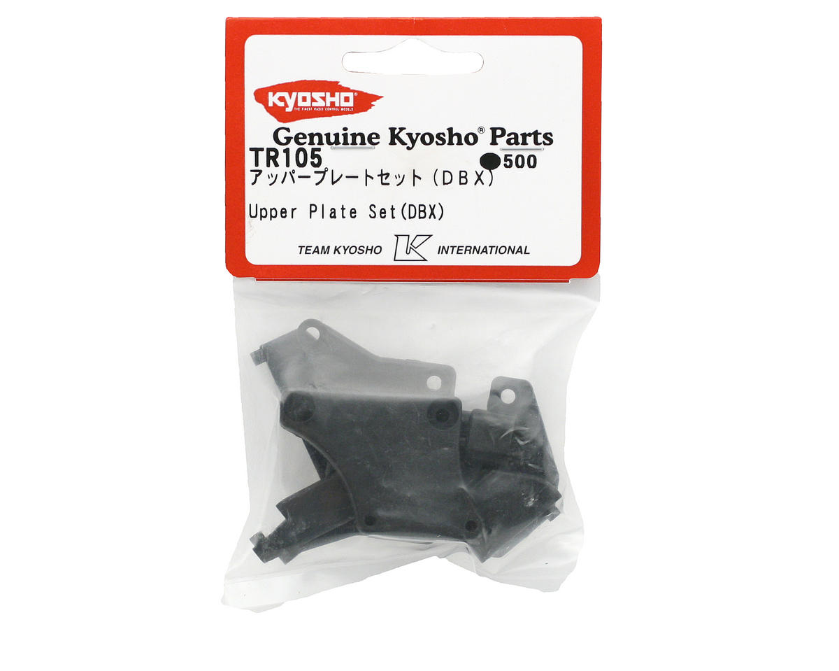 Upper Plate Set (DBX) by Kyosho