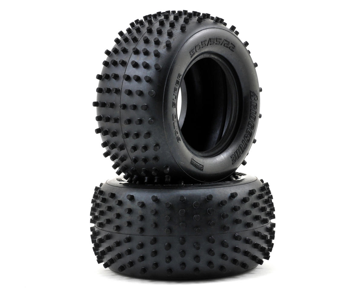 "Spike 2.2"" 1/10 Truck Tire (2) (DBX) by Kyosho"