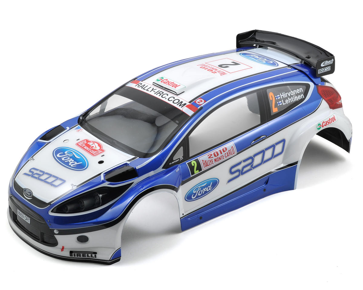 Kyosho Ford Fiesta Completed Body Set