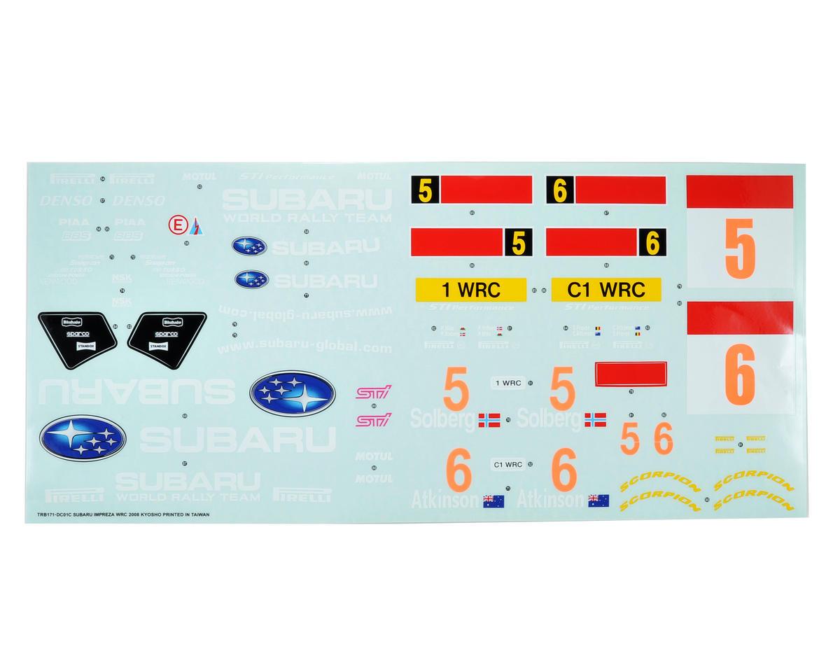 Kyosho Sponsor Decal (Subaru Impreza WRC)
