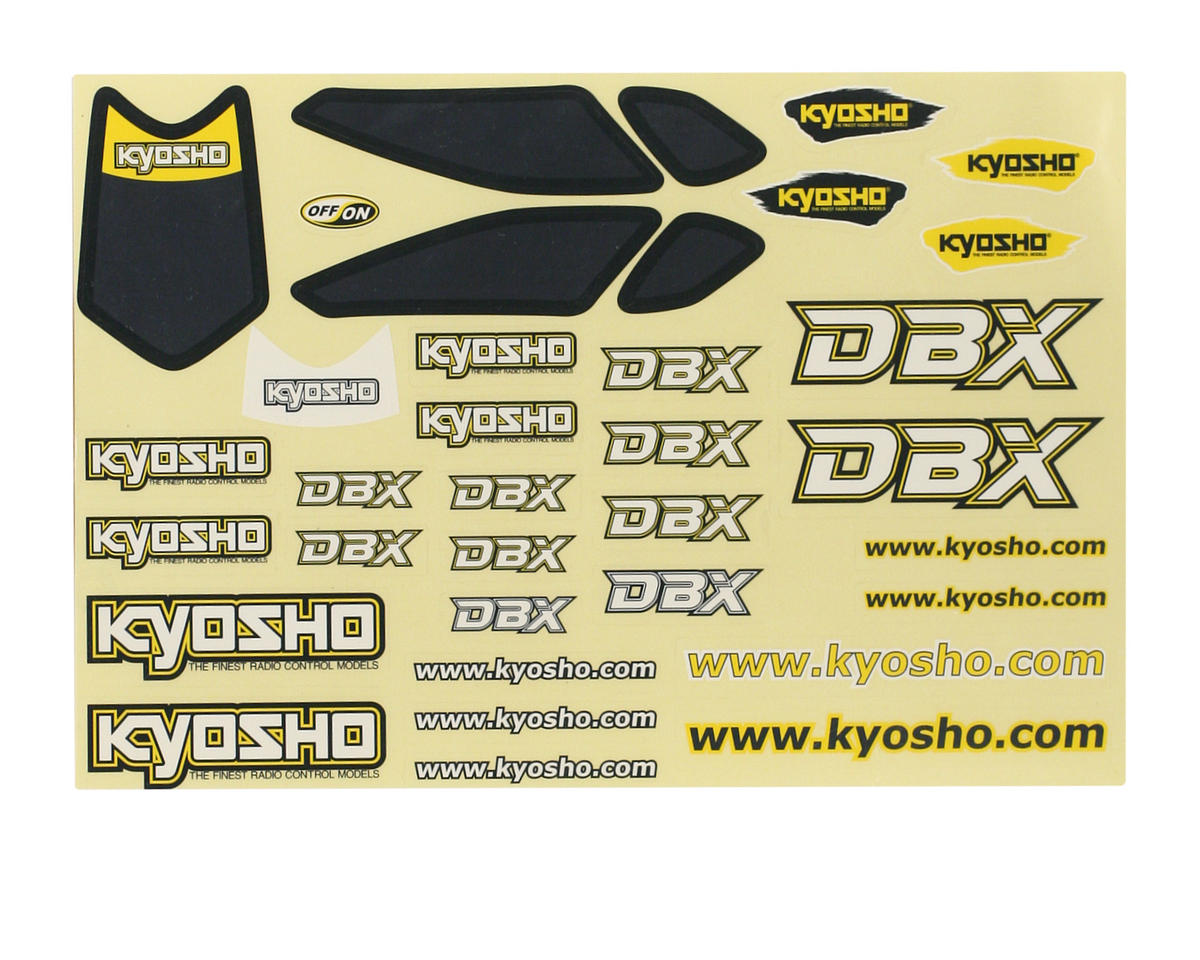 Kyosho Decal Set (DBX G3)