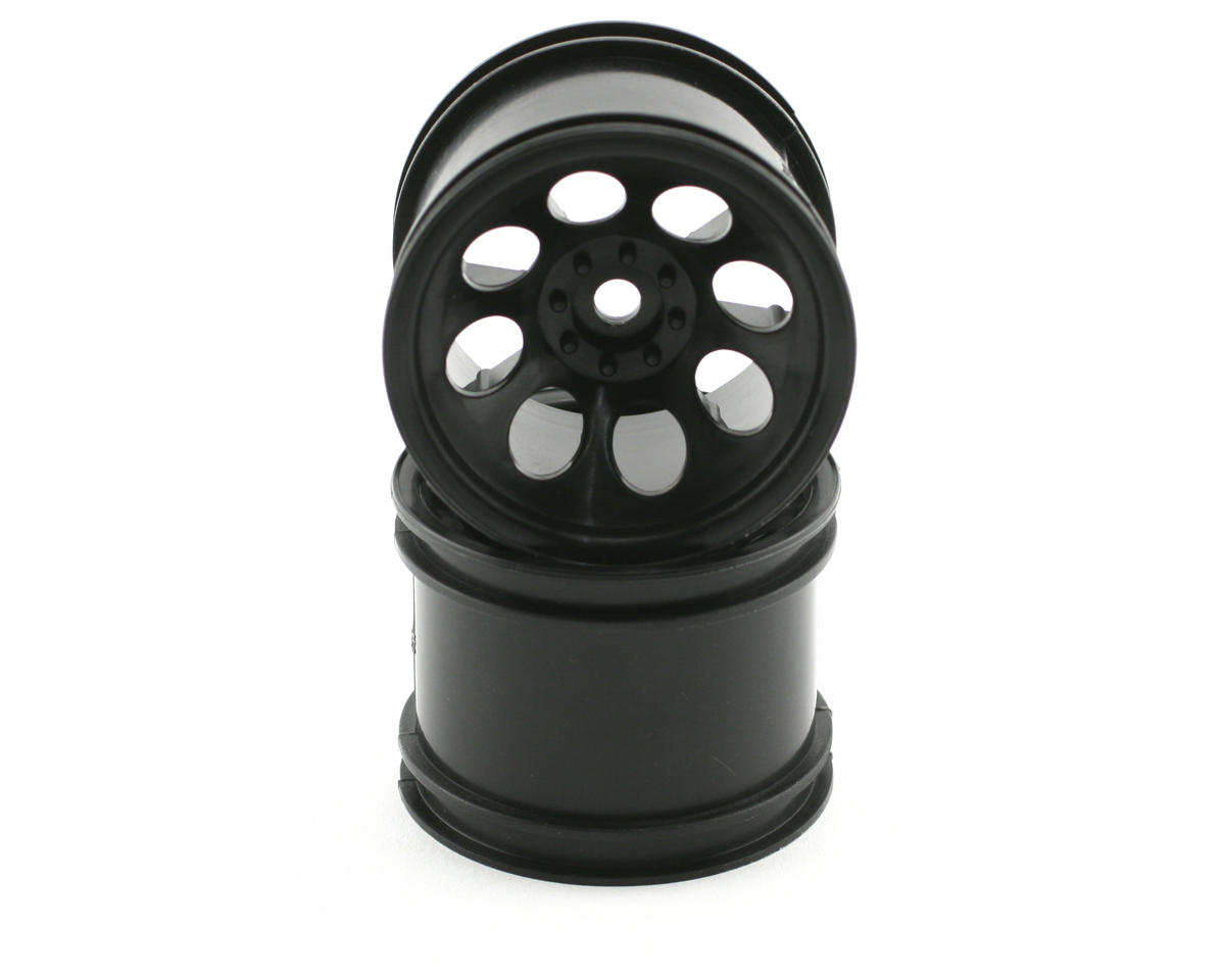 Wheel (2) (DBX) (Black) by Kyosho