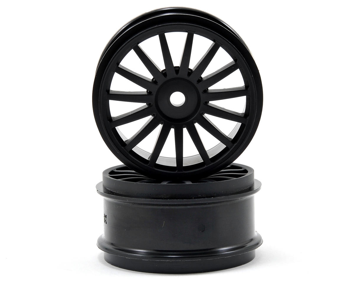15-Spoke Wheel (Black) (2) by Kyosho