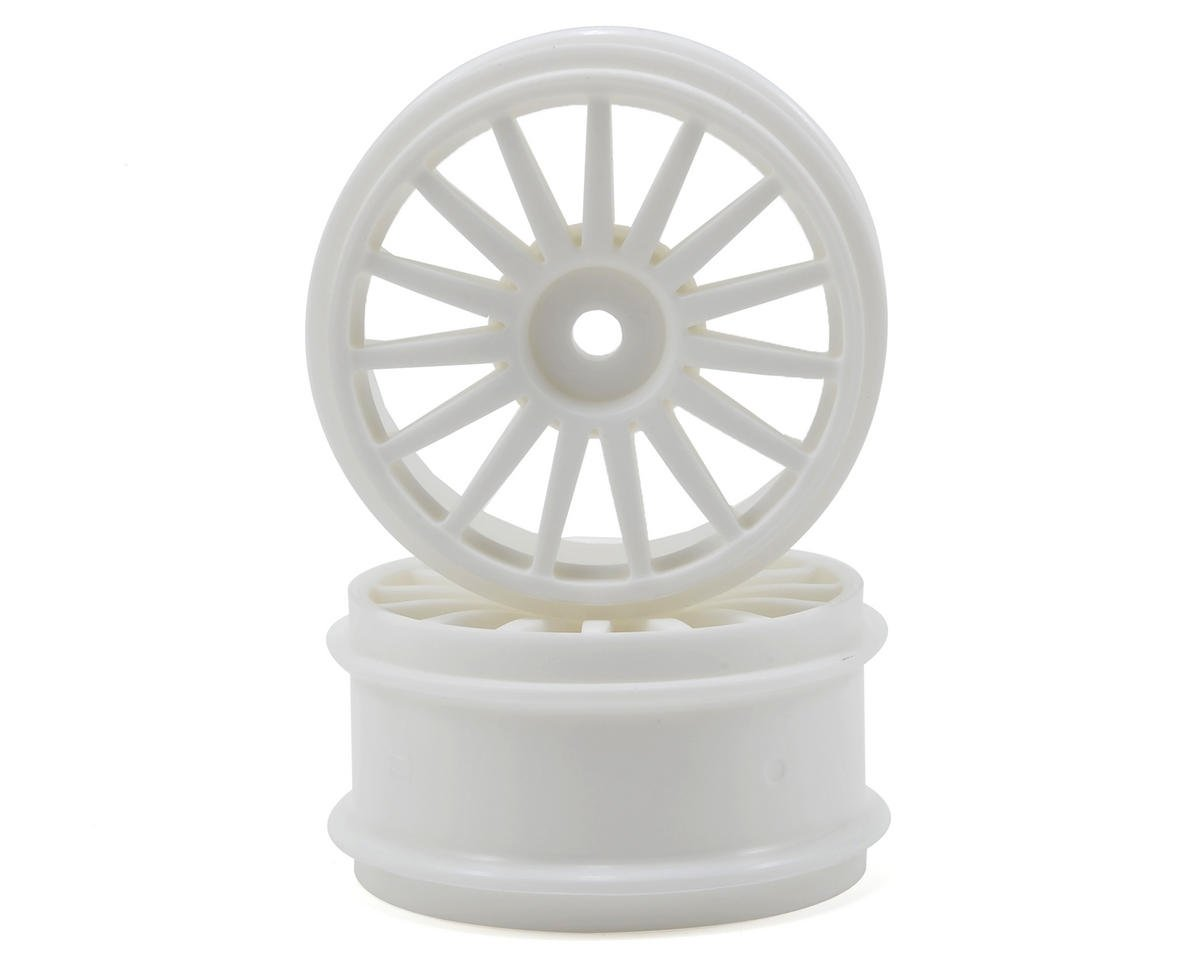 Kyosho 15-Spoke Wheel (White) (2)