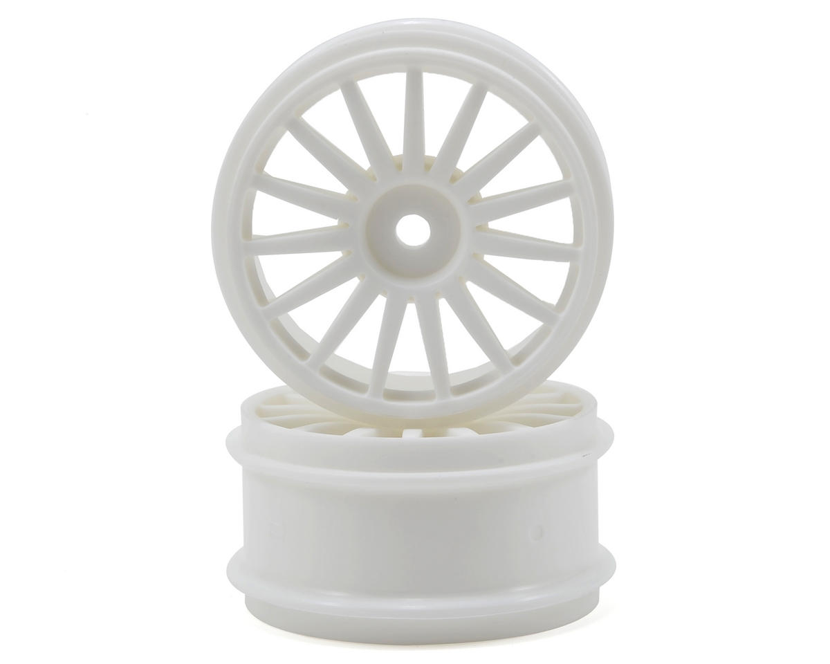 15-Spoke Wheel (White) (2) by Kyosho