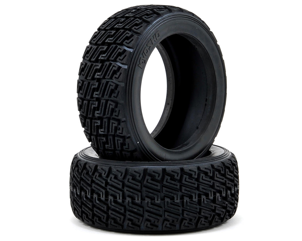 Rally Tire (2) by Kyosho