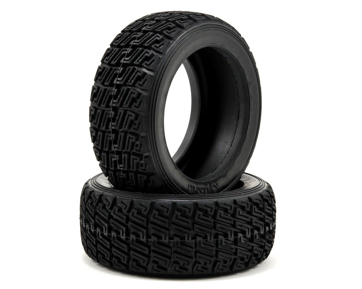 High Grip Rally Tire (X-1 Compound) (2) by Kyosho