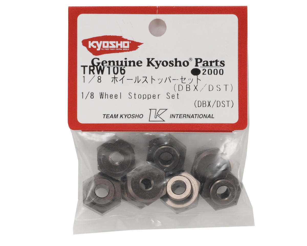 Kyosho 17mm 1/8 Wheel Adapter Set