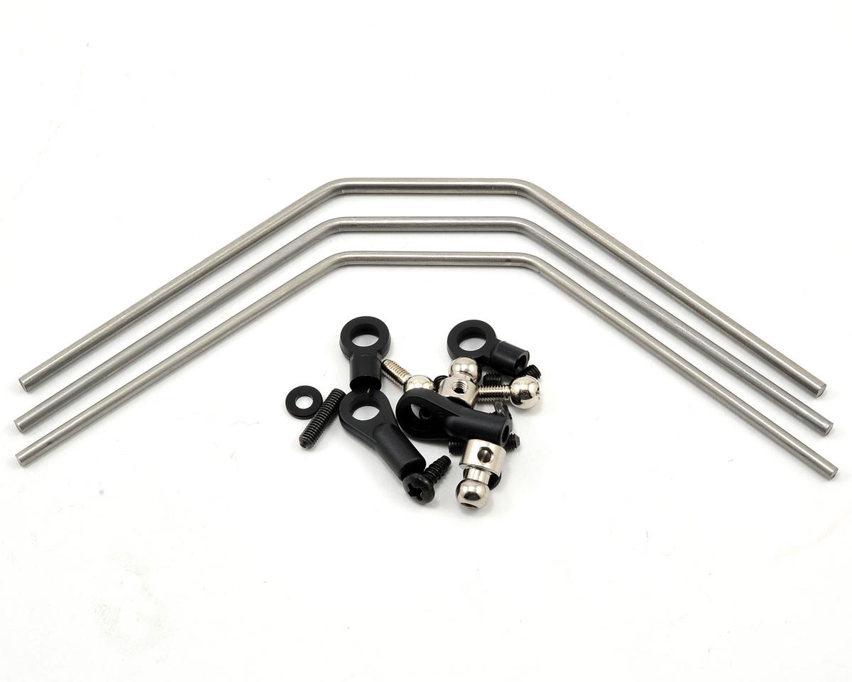 Hard Front/Rear Stabilizer Bar Set by Kyosho