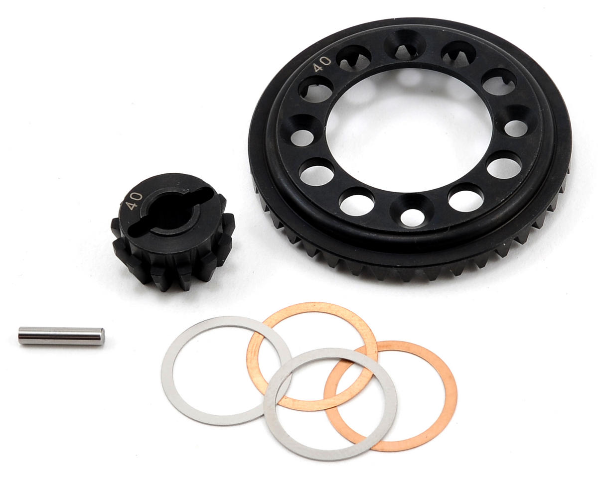 Kyosho DRX Steel Ring & Pinion Gear Set