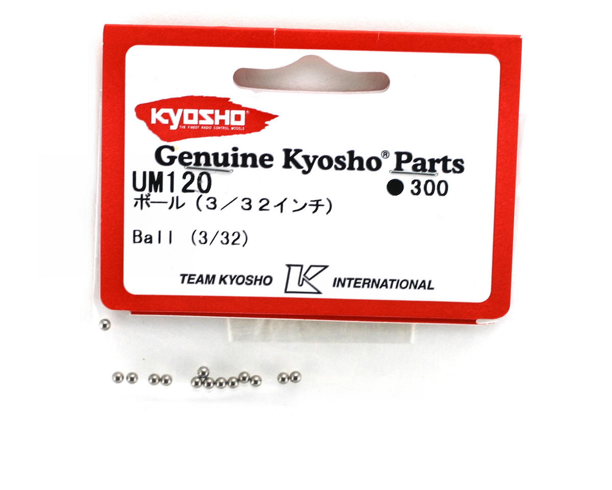 "Kyosho 3/32"" Differential Balls (14) (ZX-5)"
