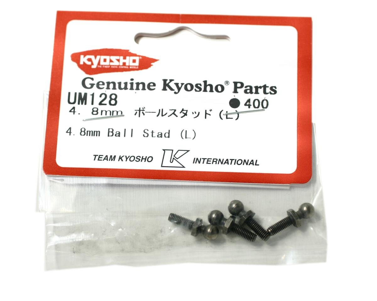 Kyosho 4.8mm Long Ball Stud (4) (ZX-5)