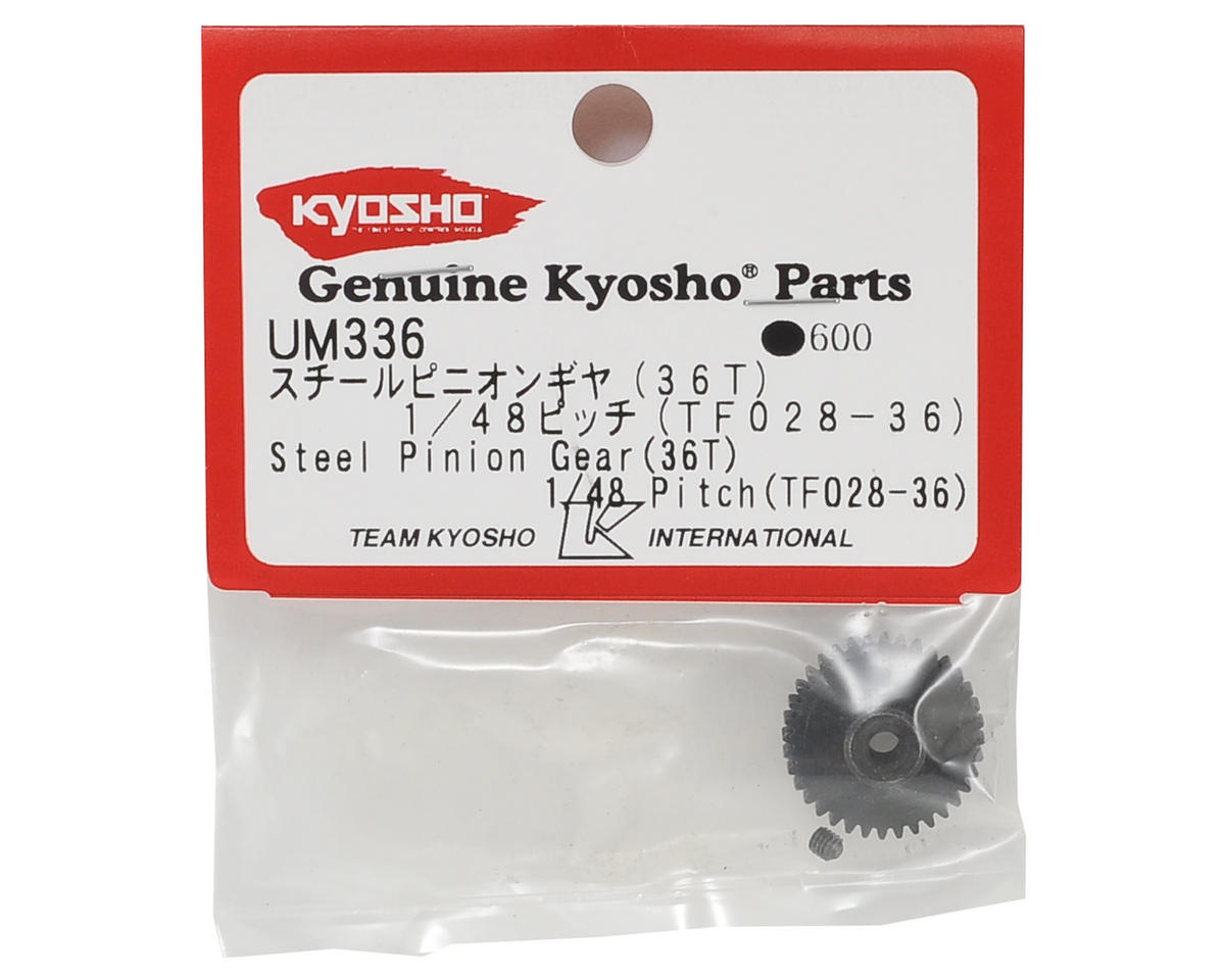 Kyosho Steel 48P Pinion Gear (3.17mm Bore) (36T)