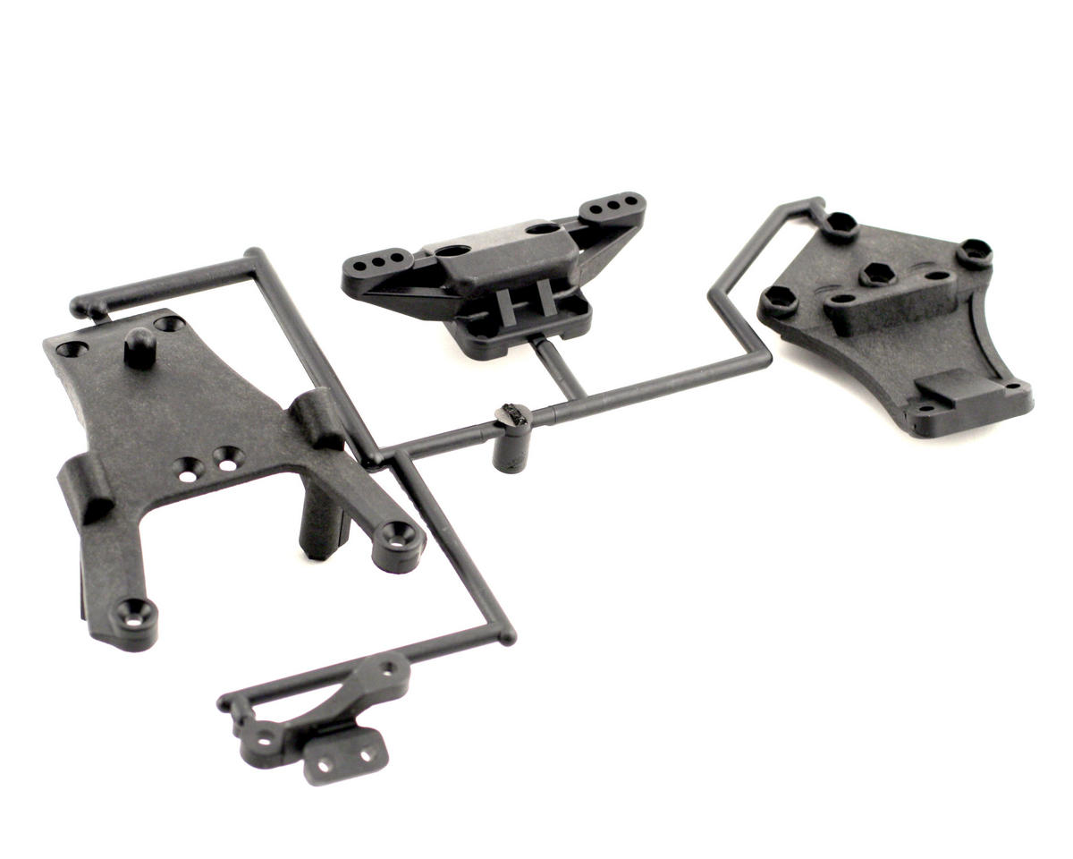 Front Bulk Head & Lower Plate by Kyosho