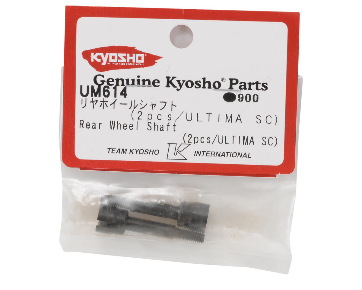 Rear Wheel Axle Set (2) by Kyosho