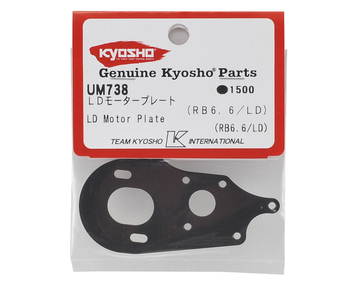 Kyosho RB6.6 Laydown Motor Plate