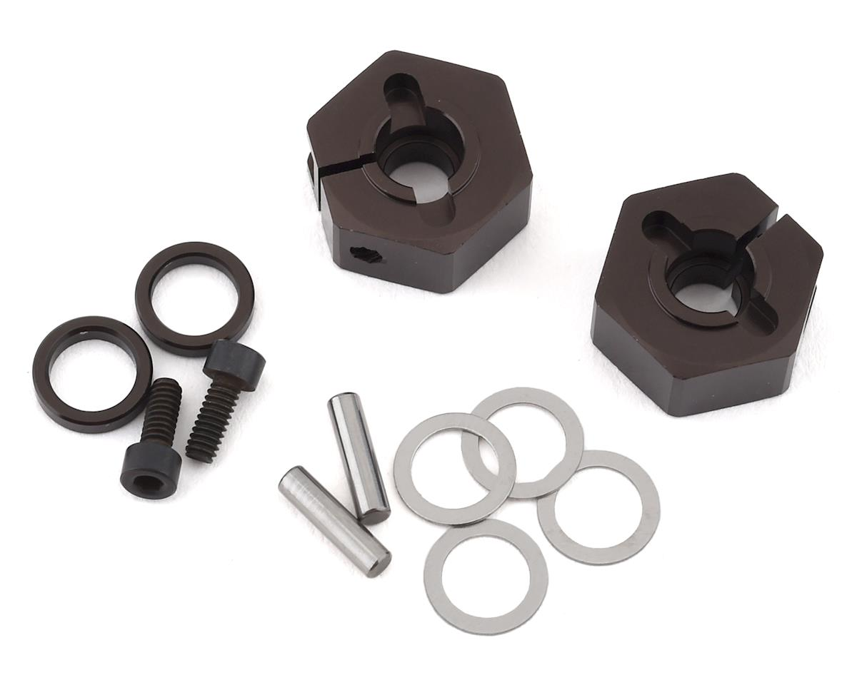 Kyosho RB7 Clamping Wheel Hub (Gunmetal) (2)