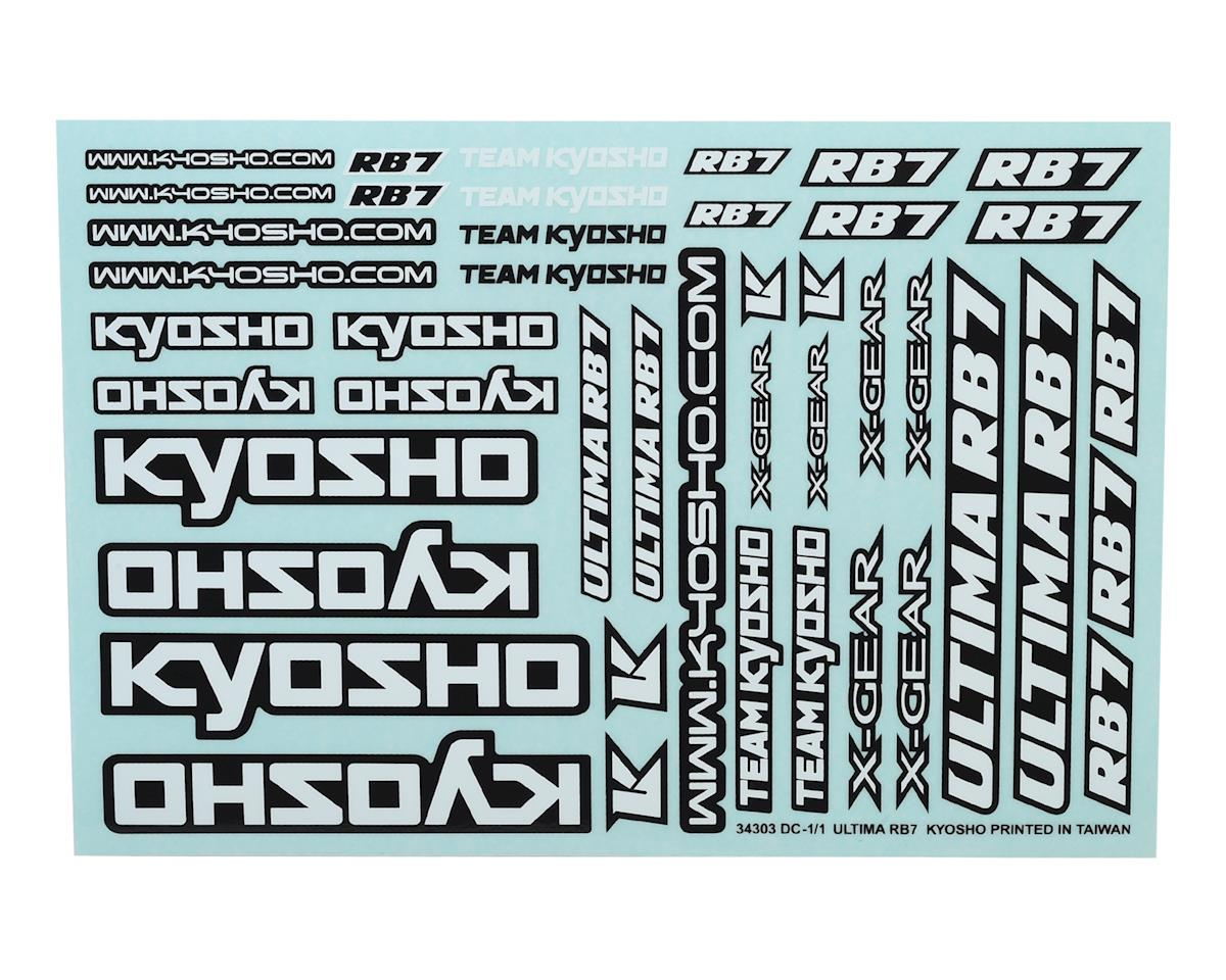 Kyosho Ultima RB7 Decal Sheet