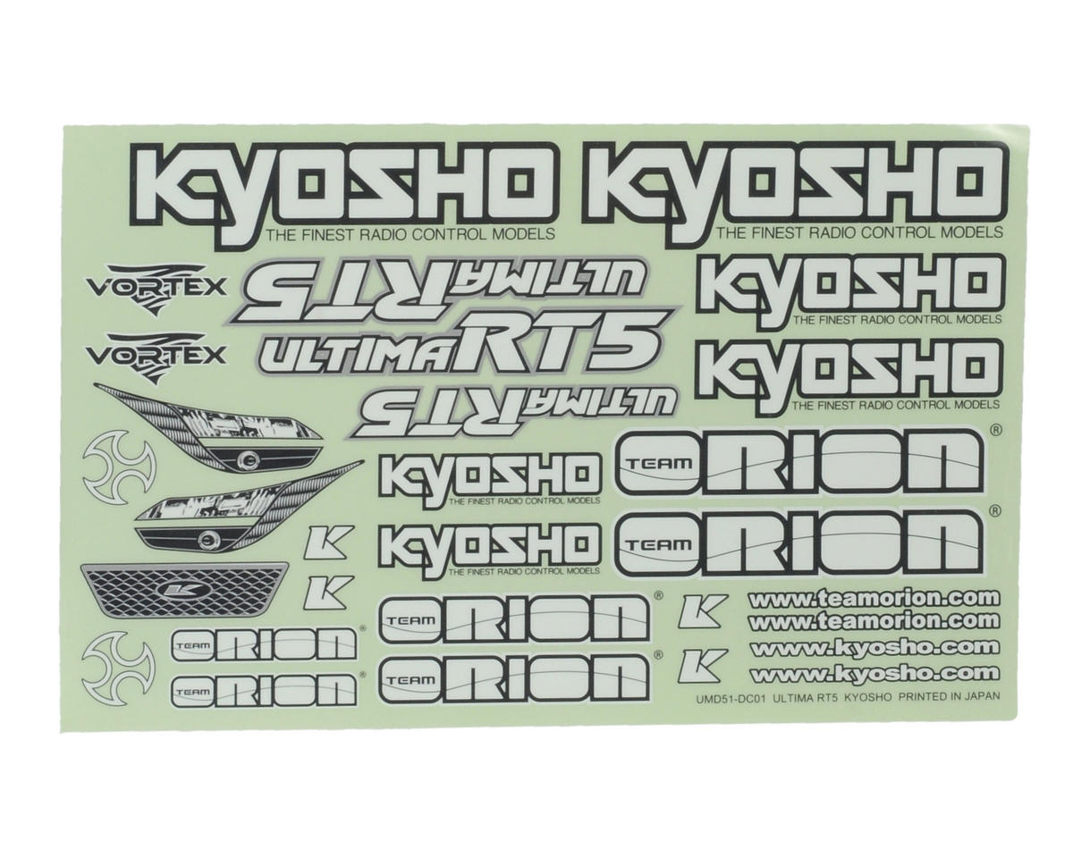 Kyosho RT5 Decal