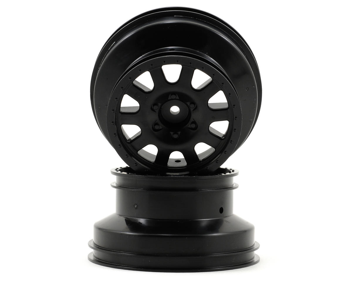 Kyosho 12mm Hex Short Course Wheels (Black) (2) (SC6)