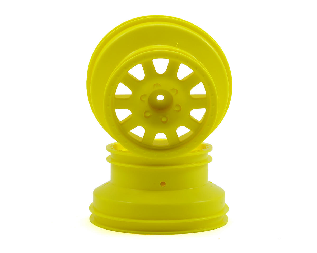 Kyosho SC6 Short Course Hex Wheel (Yellow) (2)