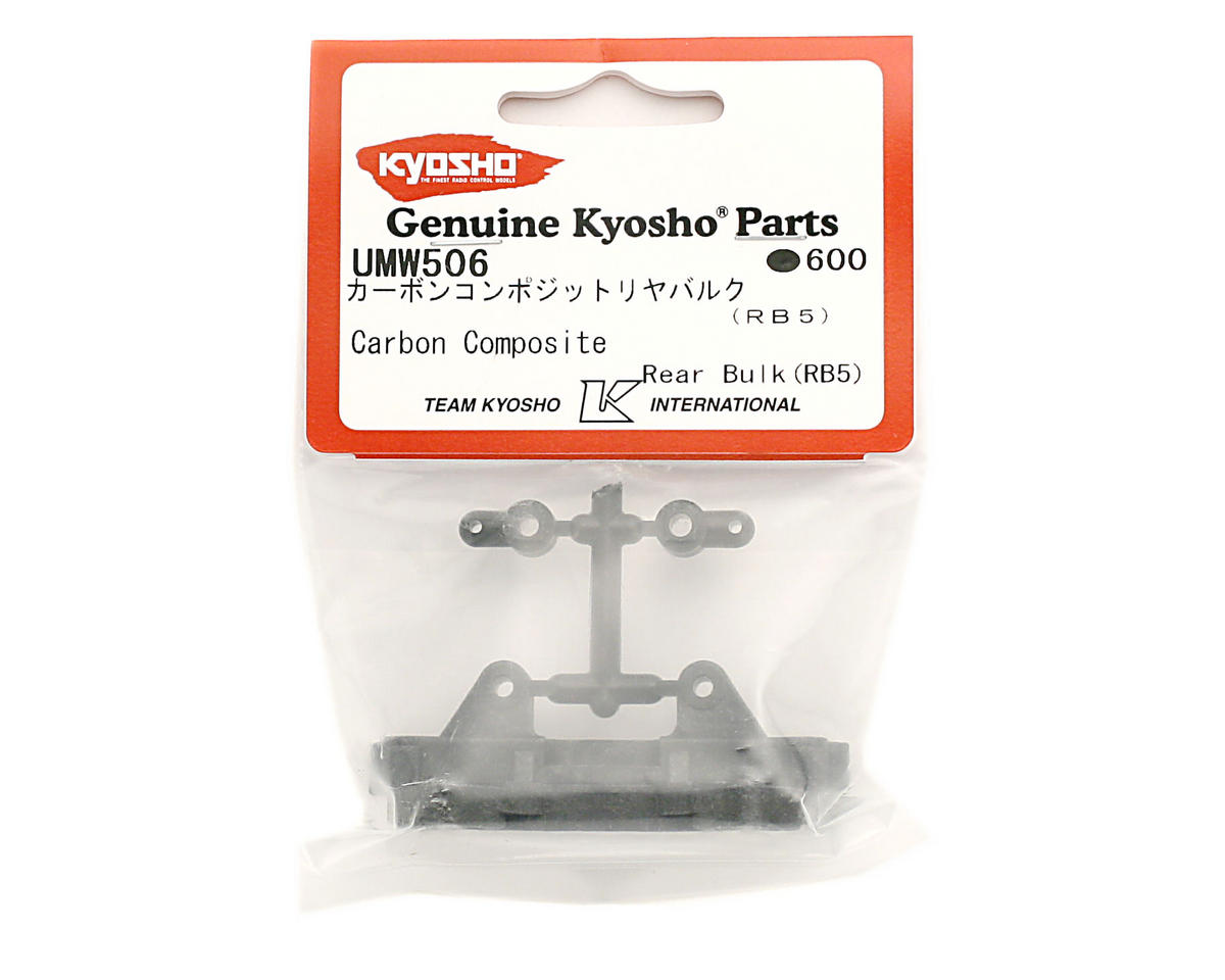 Carbon Composite Rear Bulkhead (RB5) by Kyosho