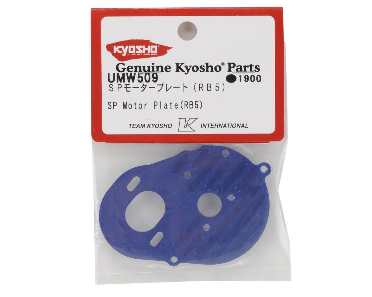 SP Motor Plate (Blue) by Kyosho