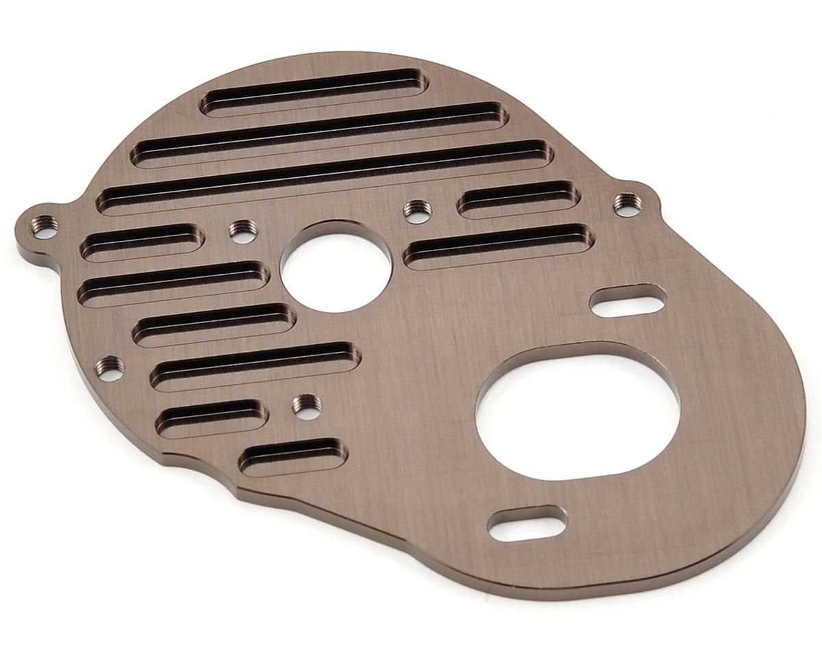 SP Motor Plate (Gunmetal) by Kyosho