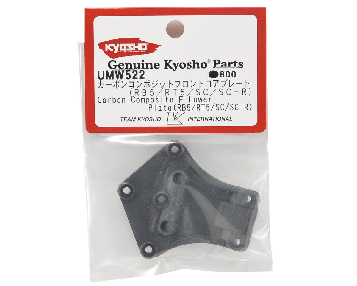 Kyosho Carbon Composite Front Lower Plate